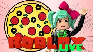 SHOOTING PIZZA IN YOUR FACE! Roblox LIVE Pizza Party Event