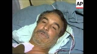 Hospital scenes following attack on prison