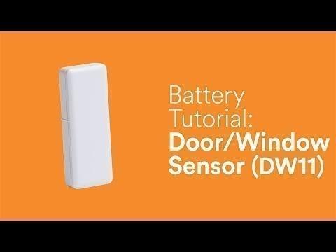 Battery Tutorial Door Window Sensor Dw 11 Youtube