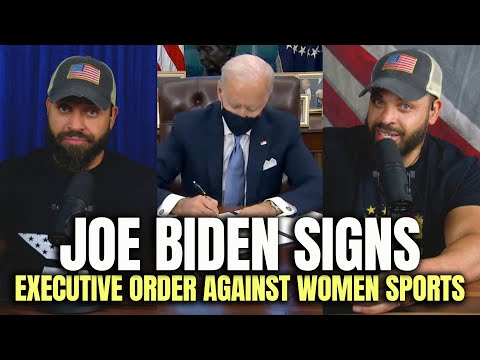 Joe Biden Signs Executive Order Against Women Sports