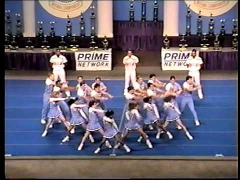 UNC Cheerleading Throwdown at NCA 1992