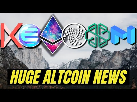 MAJOR CRYPTO NEWS | IOTA 2.0, Ethereum 2.0, Enjin, Swissborg, Kava, Matic Network