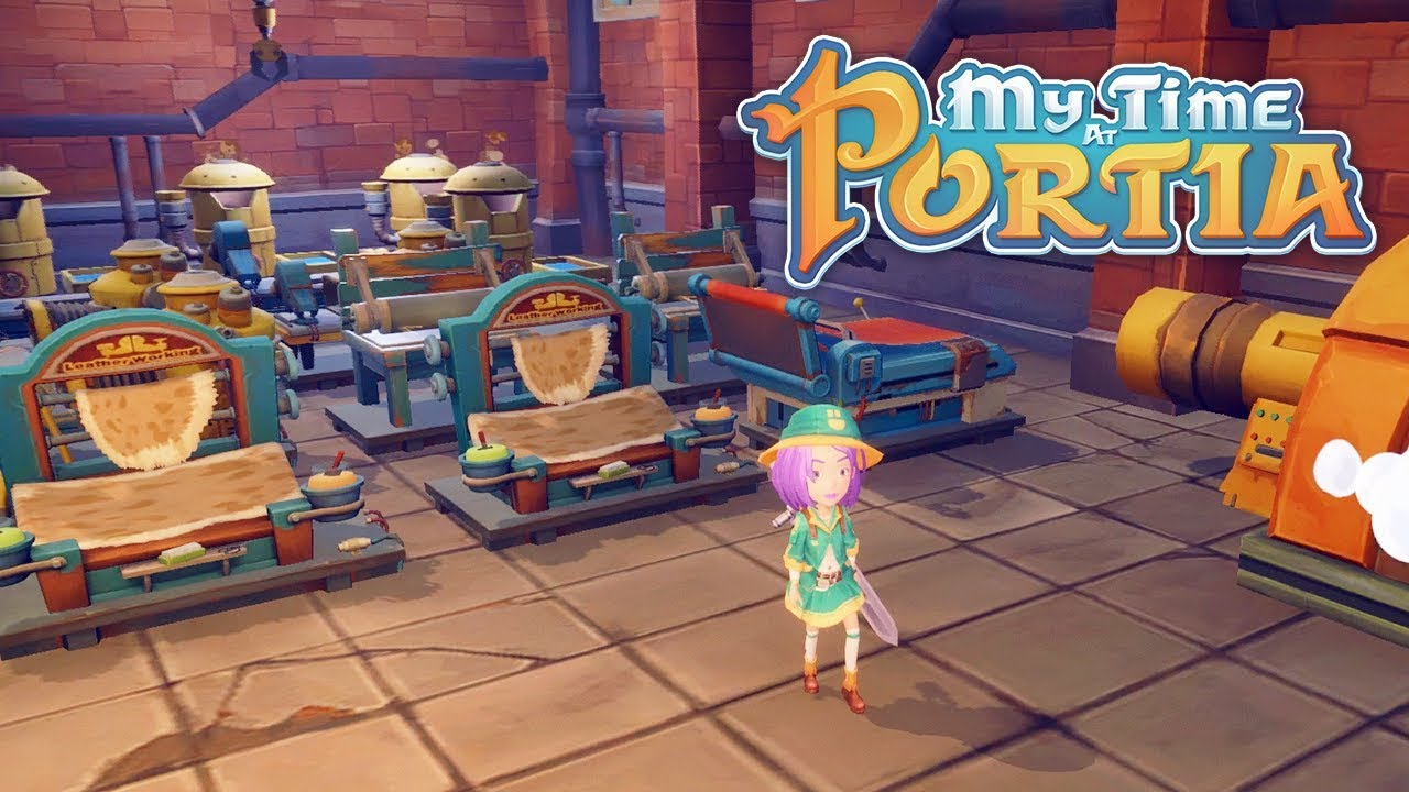 my time at portia factory storage