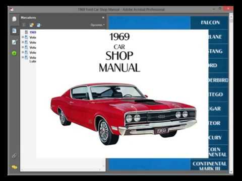 Mercury Montego 1969 Service Manual Wiring Diagram Youtube