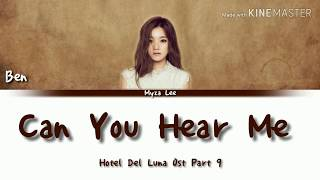 Gambar cover [Sub Indo] Ben - Can Yo Hear Me (Hotel Del Luna Ost Part 9) Lyrics