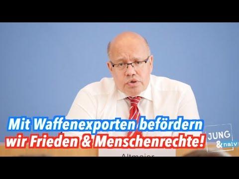 Deutsche Waffenexporte fördern Frieden & Menschenrechte (Peter Altmaier)