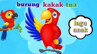 BURUNG KAKAK TUA !!! Lagu anak dan balita indonesia terpopuler(lirik)