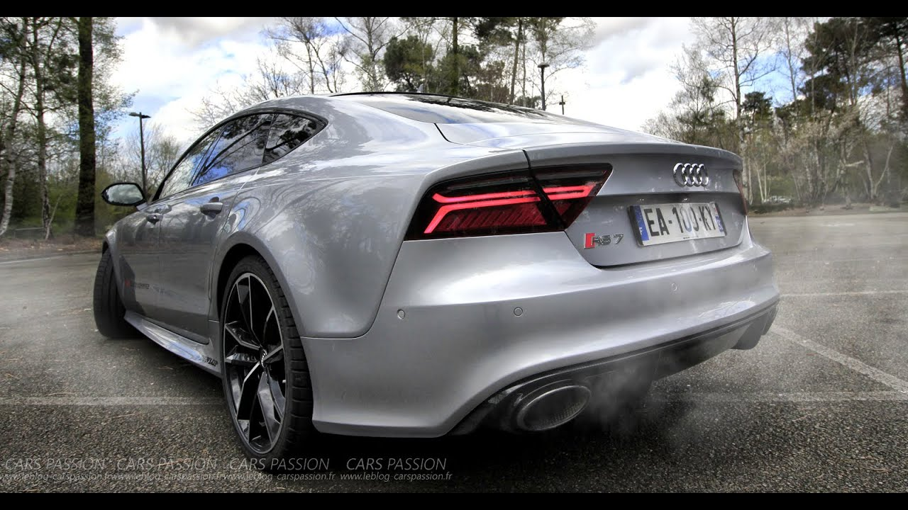 acceleration audi rs7 2016 performance 605 hp sound. Black Bedroom Furniture Sets. Home Design Ideas