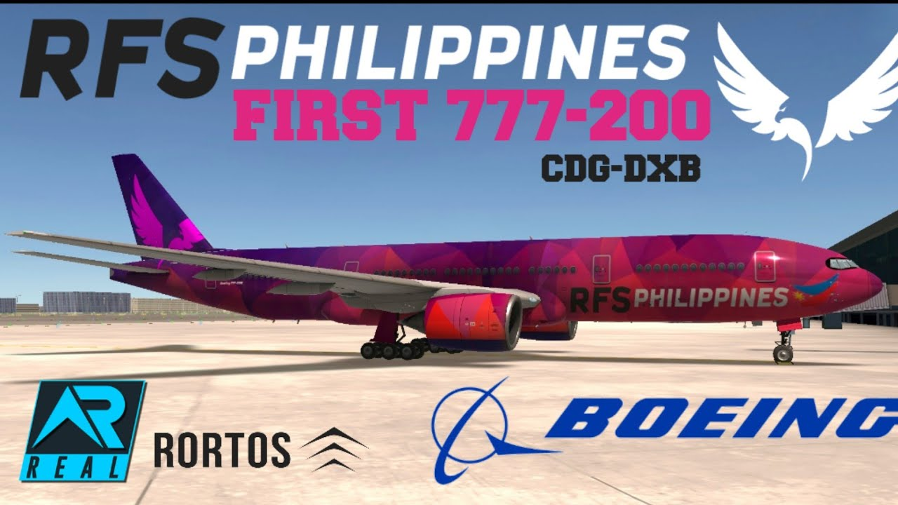 RFS-Real Flight Simulator RFS PHILIPPINES airlines Boeing ...