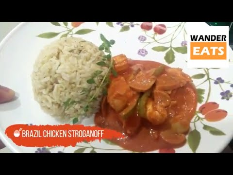 Cook: Brazilian Chicken Stroganoff Recipe - Authentic Brazil