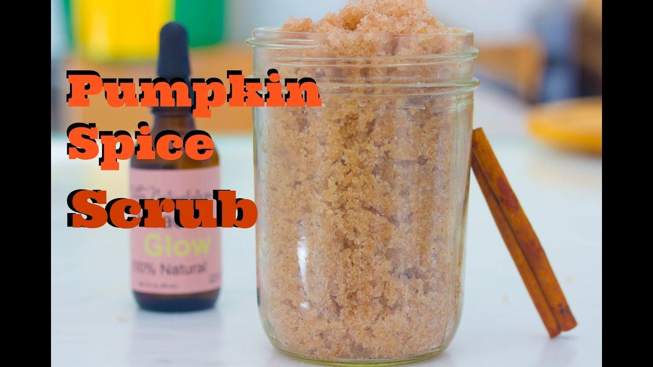 making pumpkin spice body scrub (diy saturday episode 27) pumpkin