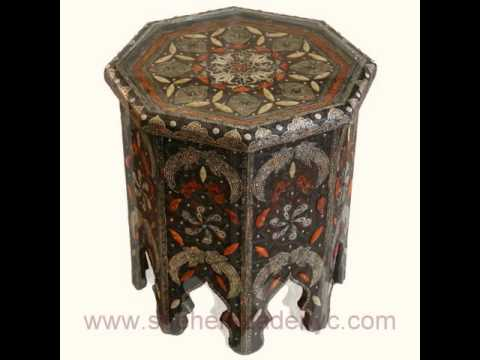 Moroccan Furniture And Home Accessories At Sheherazade Store Nyc.