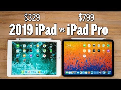 "2019 10.2"" iPad vs 2018 iPad Pro - Ultimate Comparison"