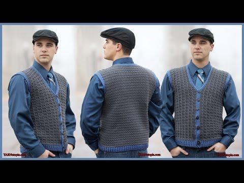 Crochet Tutorial: Sharp Dressed Man Vest