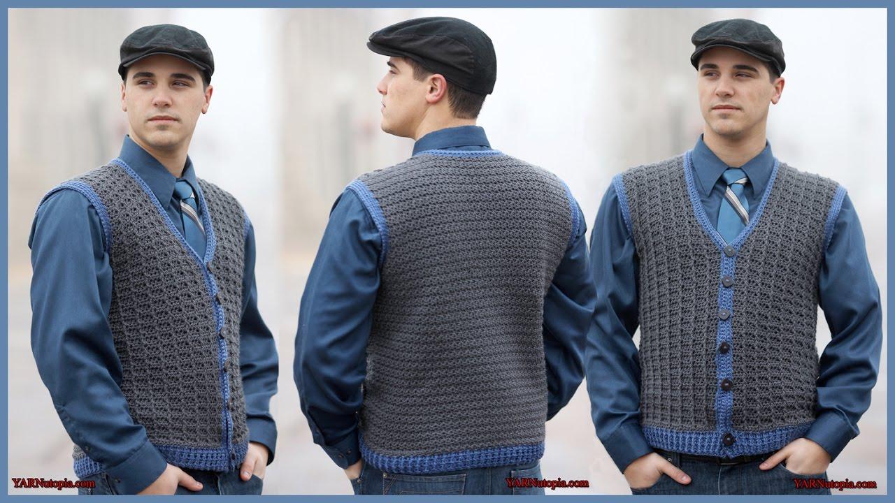 Crochet easy granny square vest youtube.