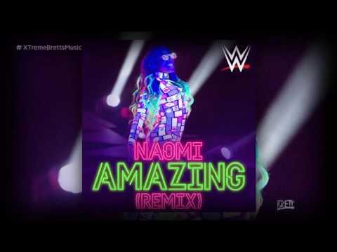 "WWE: ""Amazing"" (Remix) by CFO$ ► Naomi New Theme Song"