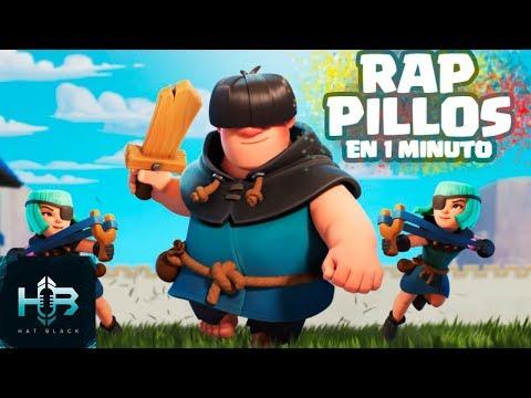 PILLOS en 1 minuto | RAP CLASH ROYALE | Español | Hat Black Game