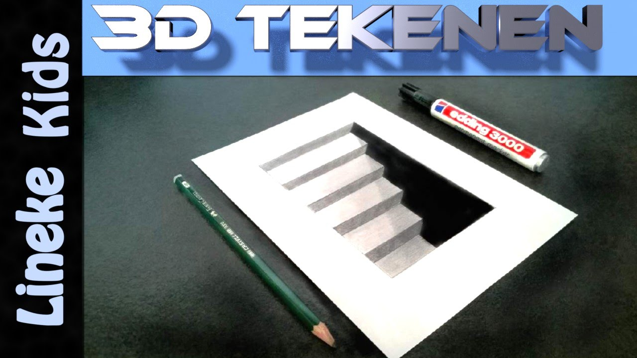 3d tekenen voor beginners kelder trap youtube for 3d meubels tekenen