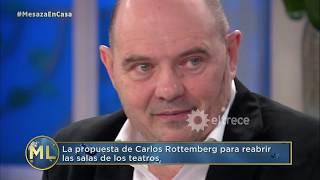 Carlos Rottemberg explica por qué dijo que el año teatral estaba jugado cuando empezó la #Cuarentena