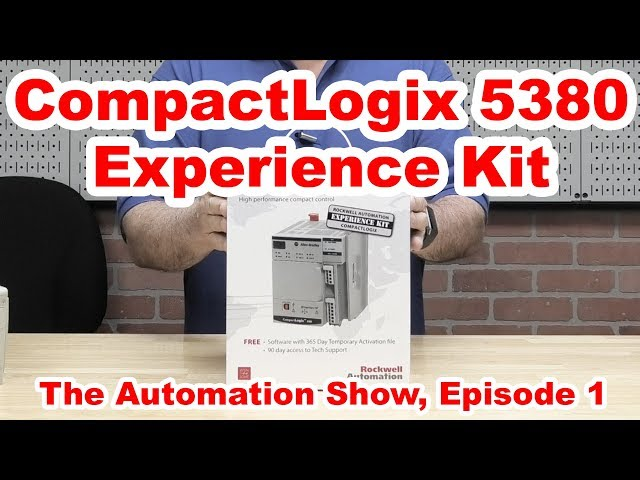 CompactLogix 5380 Experience Kit on The Automation Show