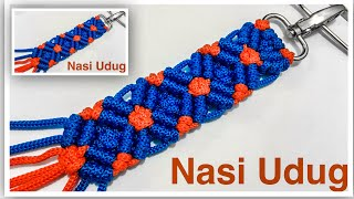 Cara membuat handle tas tali kur motif melati by Nasiudug