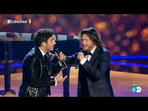 """Manuel Carrasco y Carlos Torres: """"Yo Te Vi Pasar"""" - Final - La Voz 2016"""