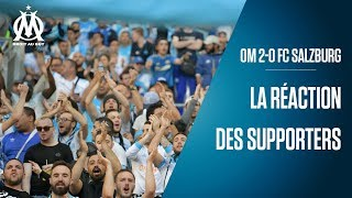 OM 2-0 FC Salzburg   La réaction des supporters