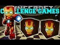 PopularMMOs Pat and Jen Minecraft: IRONMAN CHALLENGE GAMES - Lucky Block Mod - Modded Mini-Game