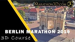 BMW BERLIN MARATHON 2019: 3D Course