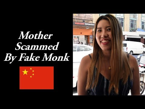Fake Chinese Monks Scam People - Chinese Influence Abroad - The Monk Buddhism