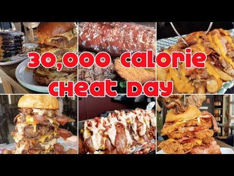 INSANE 30,000 Calorie Cheat Day | 3,000 Subscriber Special