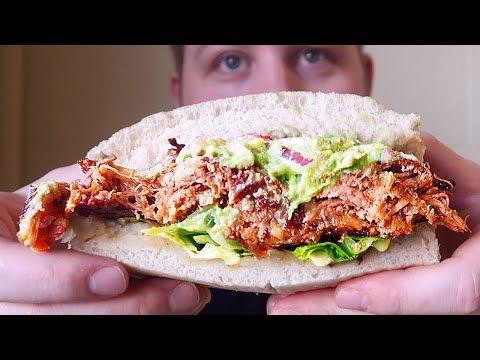 PERUVIAN FOOD Mouthful Eatery MUKBANG | Crispy Carnita Lomo Saltado | Food Review AuzSOME Austin