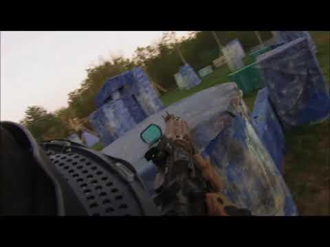 1vs1 Magfed Paintball Tippmann TMC vs T15!!!