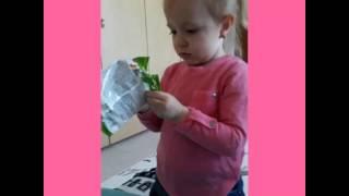 Beren Naz babasına kızıyor   Baba kız komik video ( Haribo Jelibon içerir ) 😀