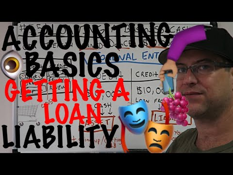 Accounting for Beginners #55 / Loaning a Business Cash / Increasing a Liability / Journal Entry