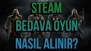 Steam  Bedava Oyun Key Alma