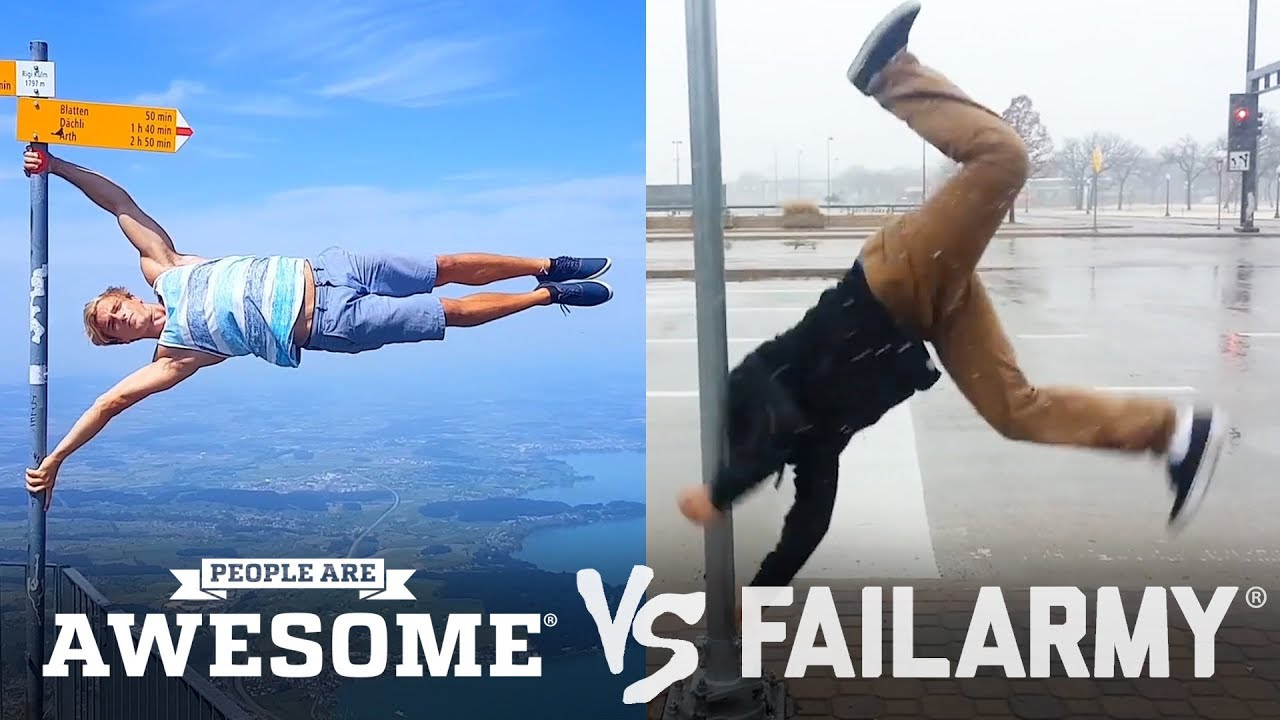 People are Awesome vs. People that fail