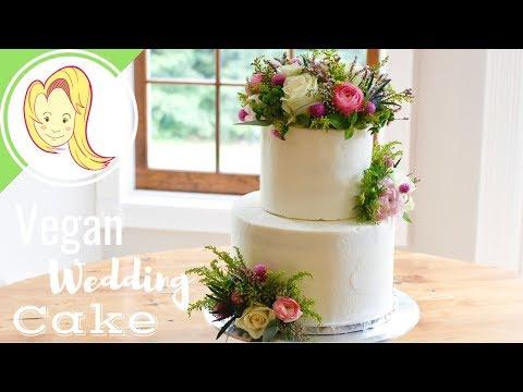 Making a Vegan Wedding Cake – Maine