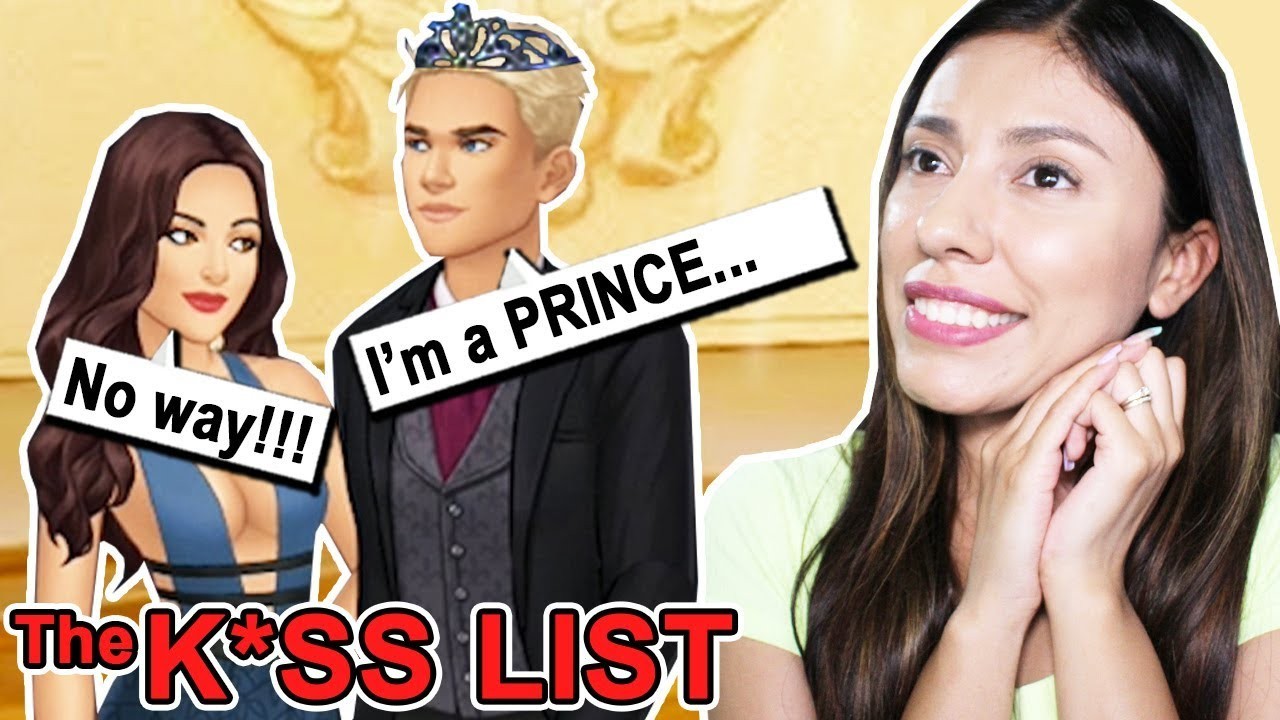 MY NEW BOYFRIEND IS SECRETLY PRINCE! - THE KISS LIST ( Playing Episode 10)