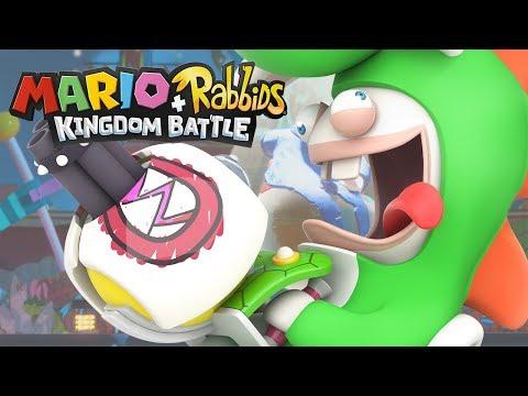 MARIO+RABBIDS KINGDOM BATTLE #25 - O ESPERADO MUNDO DA LAVA