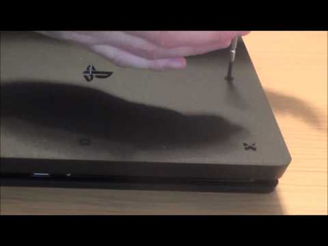 How to Manually Eject a DISC Stuck in your PS4 Slim /  PlayStation 4 STUCK DISC FAULT