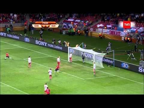 Gol de Mark González a Suiza - Sudáfrica 2010