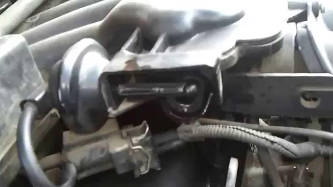 очистить впускной коллектор и клапана ford