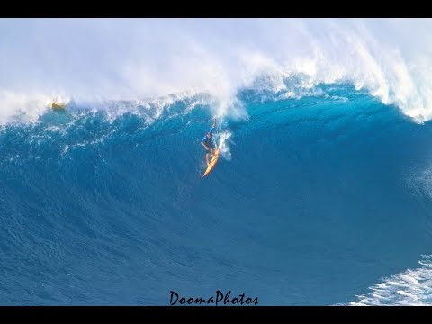 Big Wave Surfing Jaws Peahi Maui 4K