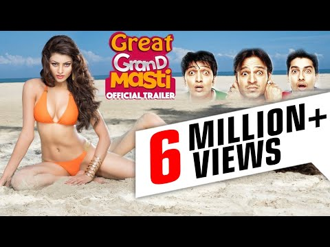 Great Grand Masti Hindi Movie Promotion Event - Urvashi Rautela - Full Promotion video