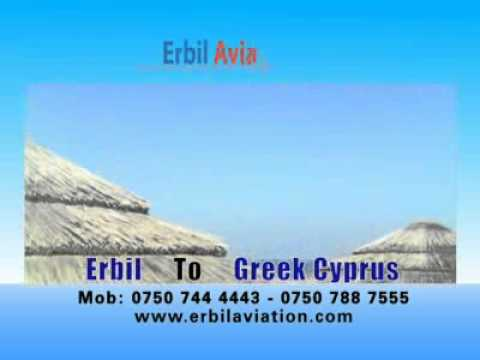 Erbil Aviation Travel and Tourism to Cyprus