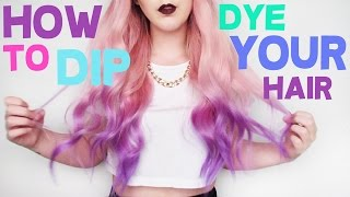 One of Tasha Leelyn's most viewed videos: How To: Dip Dye Your Hair!!  | by tashaleelyn