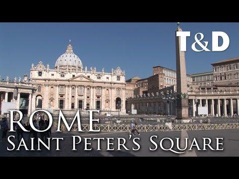 Saint Peter Square 🇮🇹 Rome Tourist Guide - Travel & Discover