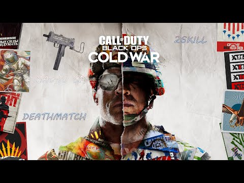 Call of Duty Black Ops Cold War - Game With The MAC-10[EPIC DEATHMATCH] |