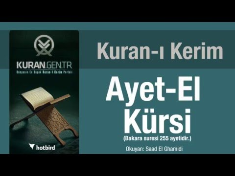 ayetel kürsi dinle ezberle türkçe meali oku. kuran.gen.tr